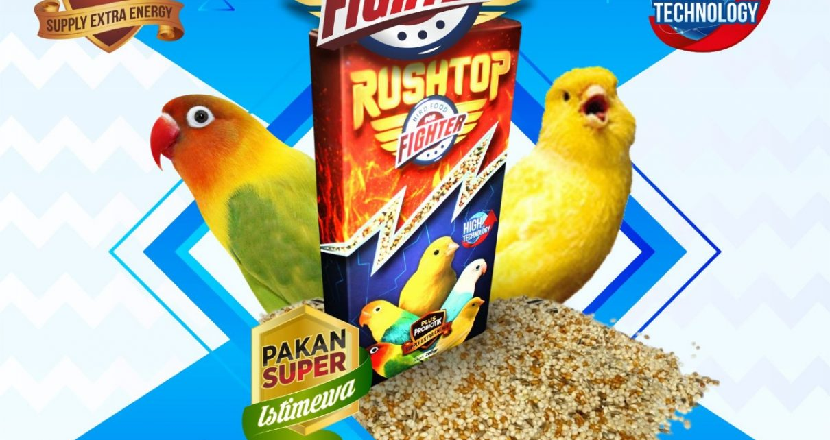 RUSHTOP BIRD FOOD FOR FIGHTER